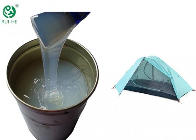 HTV Low Viscosity Silicone Rubber Aging Resistance For Textiles Coating