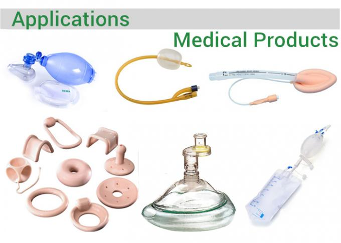Injection Equipment Medical Grade Platinum Cured Silicone High thermal Stability
