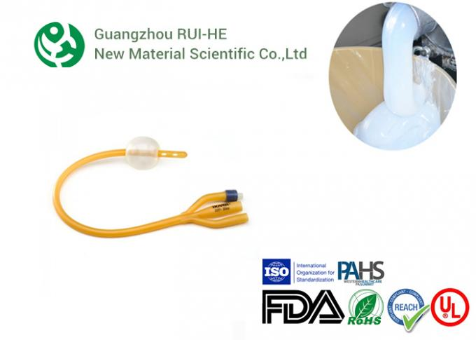 Two Part Medical Grade Silicone Rubber RH6250-50YH For Injection Produce