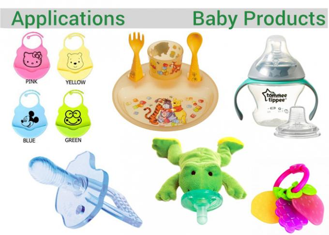 LSR Food Grade Liquid Silicone Rubber Fast Forming Speed Good Resilience For Nipples Baby soother