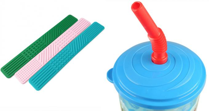 High Hardness Drink Straw Food Grade Liquid Silicone Rubber For Baby Mat