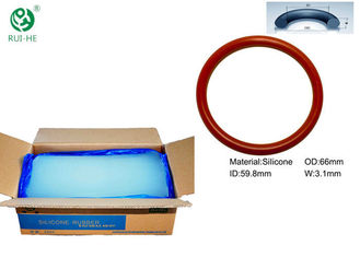 Solid Fire Resistant Silicone Rubber High Stability Apply To O Ring Seals supplier