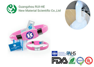 Two Part Medical Grade Silicone Rubber RH6250-50YH For Injection Produce supplier