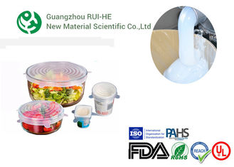 Platium Cure Low Viscosity Silicone Rubber ROHS Certification For Food Wrappers supplier