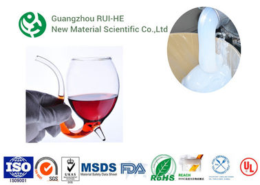 Wine Glass Platinum Cure Silicone Rubber RH7022P ® High Elongation supplier