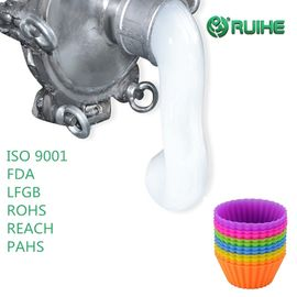 Low Viscosity Platinum Food Grade Liquid Silicone Rubber 1A / 1B Mix By Volume supplier