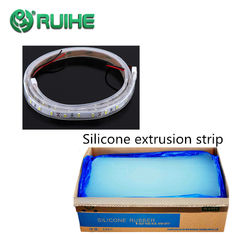 Oil Resistance Transparent Liquid Silicone Rubber / Silicone Rubber Extrusion Capabilities