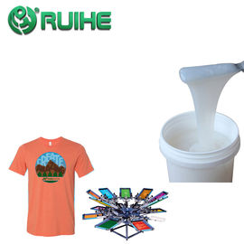 High Adhesion Fast Curing Two Part Liquid Silicone Rubber For Narrow Fabric