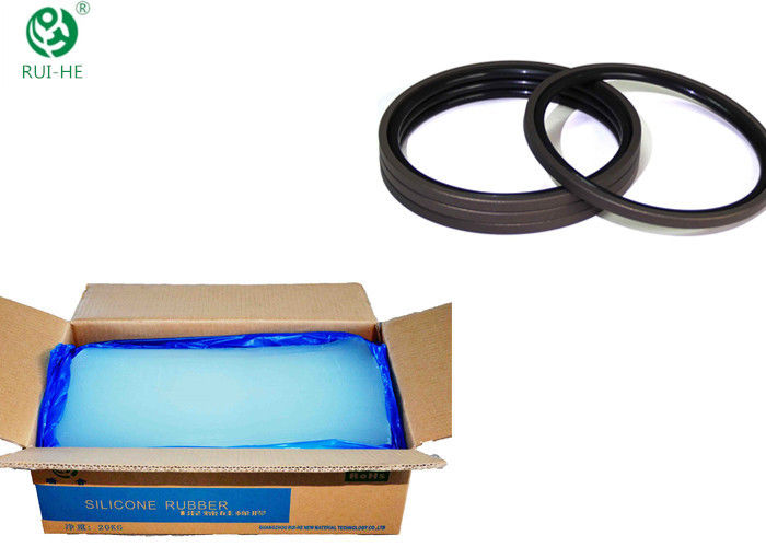 Automotive High Temp Silicone Rubber 250 ℃ - 350 ℃ 12 Months Shelf Life
