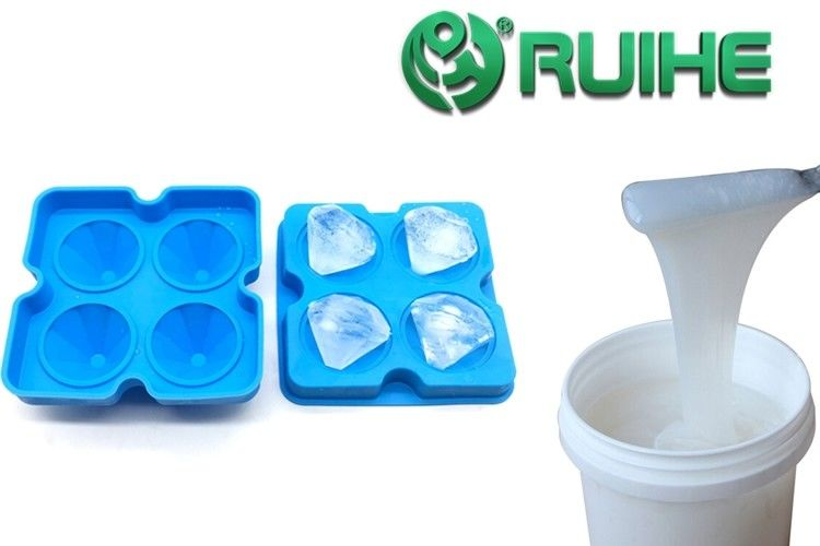 Pourable Transparent Liquid Silicone Mold Making Rubber For PU Resin Casting Precision