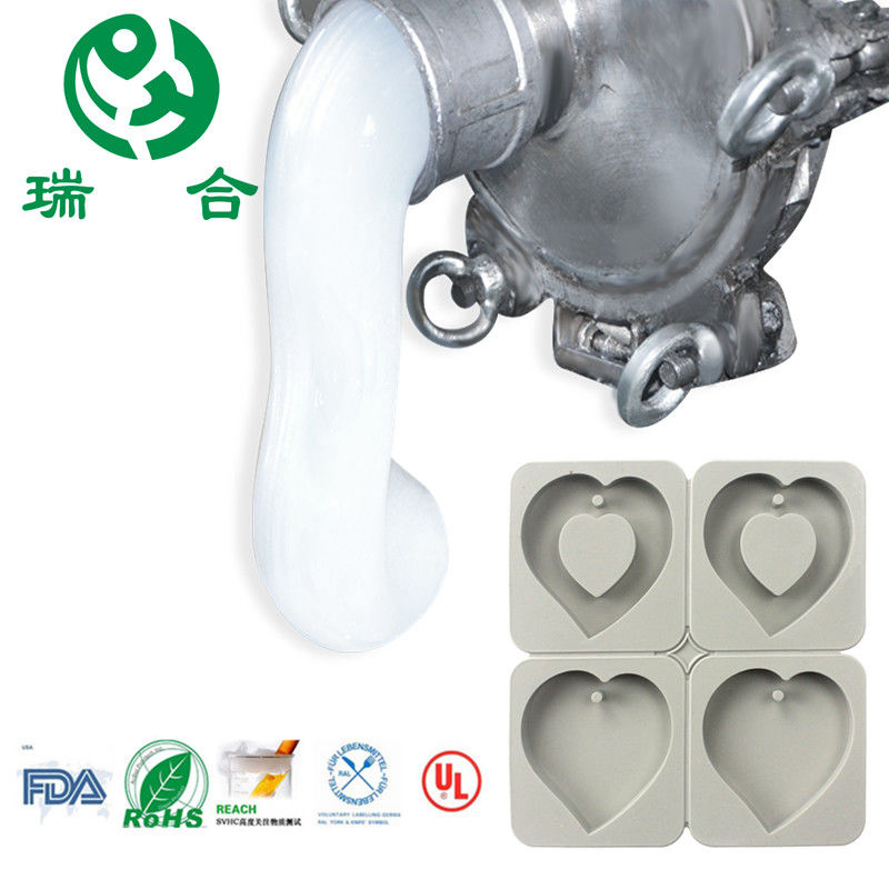Two - Component Liquid Silicone Rubber For Artificial Mold Making 40 Shore Free BPA