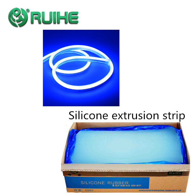 High Elongation Solid Silicone Rubber For Medical Food Grade Molded