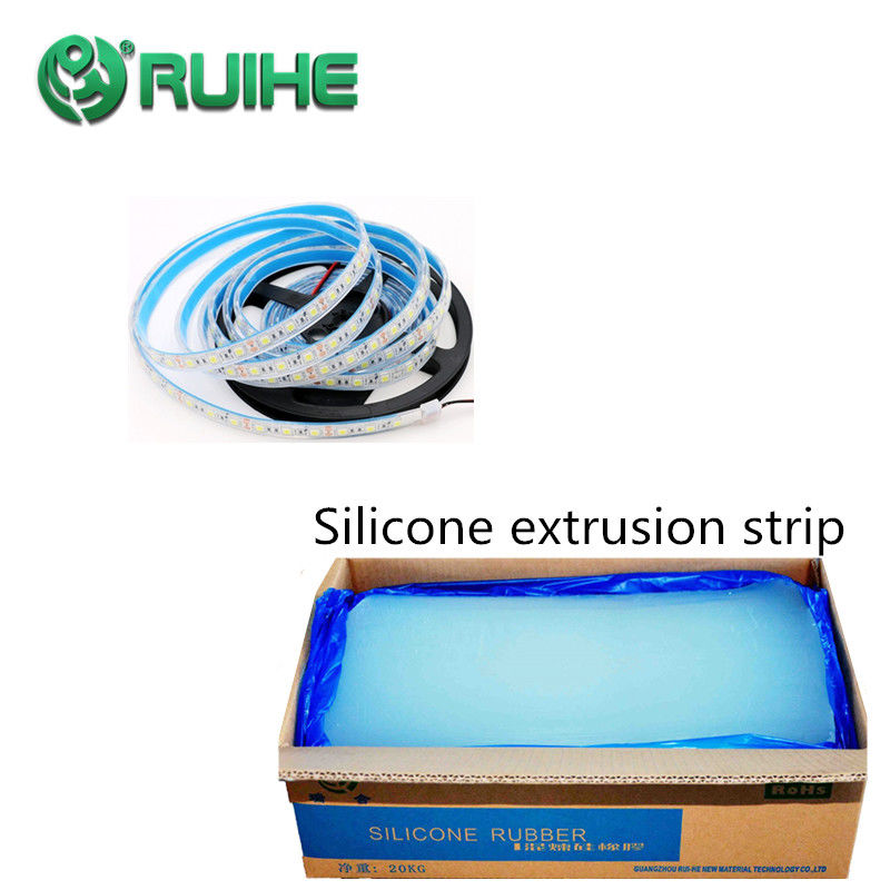 Transparent LSR Liquid Silicone Rubber In Shore A Hardness Of 30 To 80  In Profiles , Sections , Strips , Cord