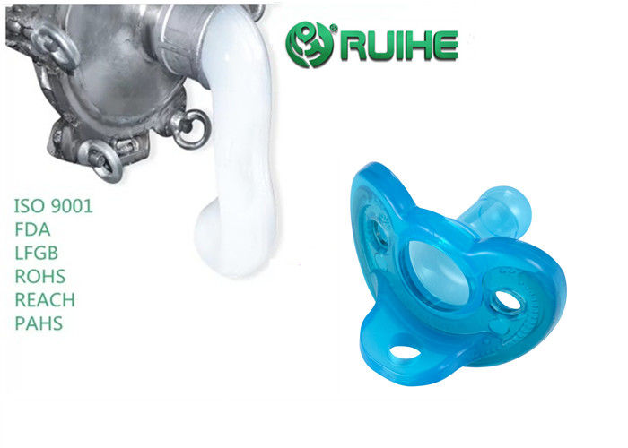 Excellent Resilience LSR Liquid Silicone Rubber For Pacifiers / 2 Part Liquid Silicone