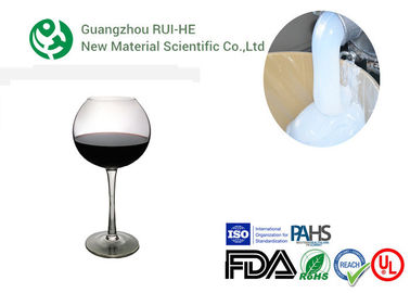 China Wine Glass Transparent Liquid Silicone Rubber , Clear Silicone Rubber Liquid factory