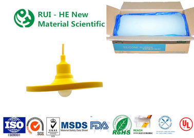 China RH7011 Solid Silicone Rubber Excellent Optical Transparency For Lighting Bulbs factory