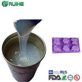 China Rtv2 Molding Liquid Silicone Rubber Raw Material To Concrete Mold Good Resilience factory