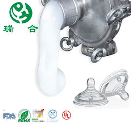 China High Durability LSR Liquid Silicone Rubber For Mold Making Baby Pacifier factory