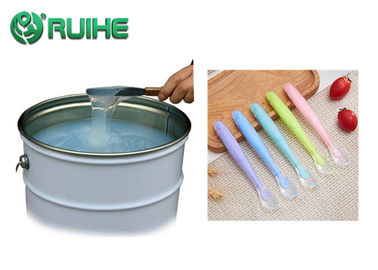 China Flexible Translucent Silicone Rubber For Baby Bib / 2 Part Liquid Silicone factory